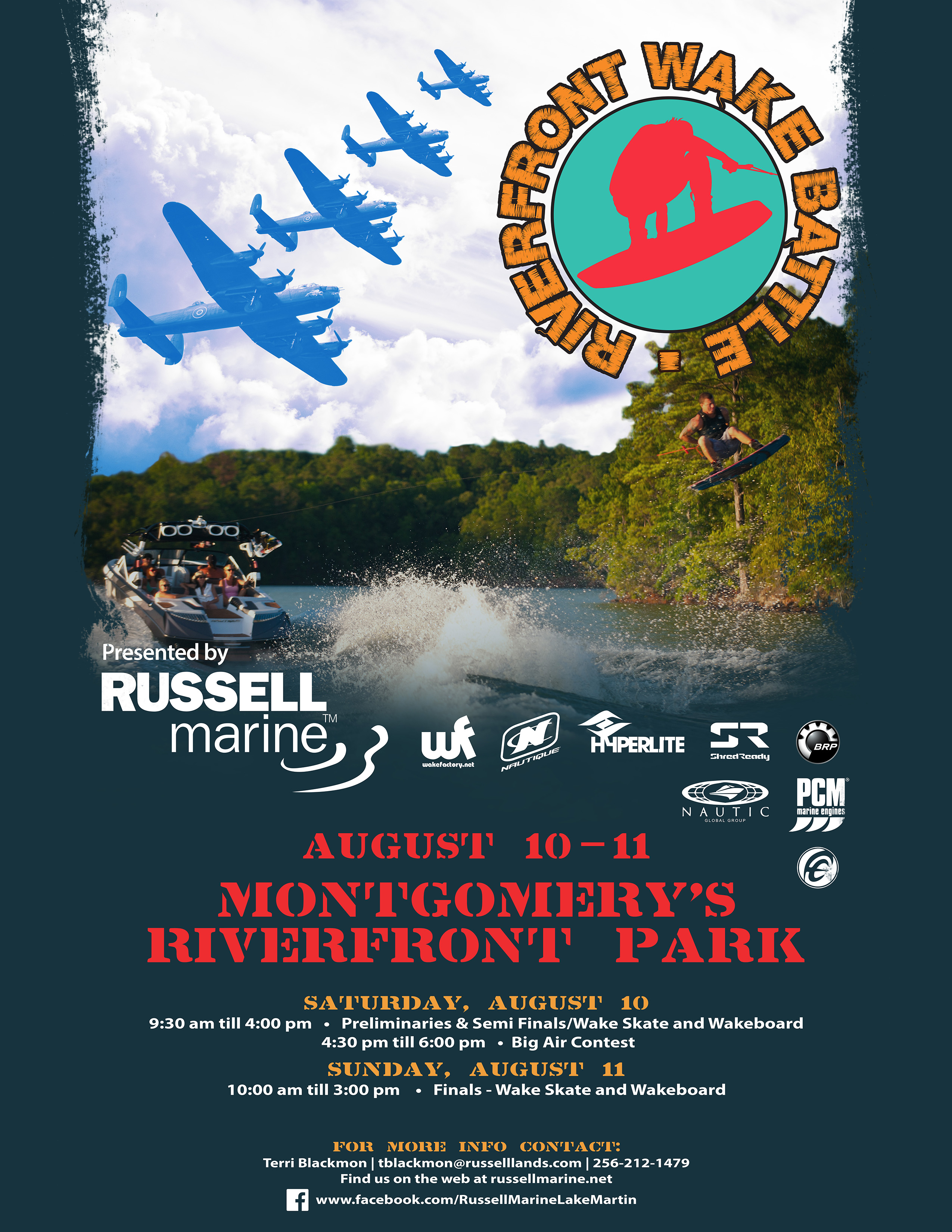 Riverfront Wake Battle 2013 flyer